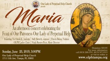 Maria – A Concert for OLPH Feast Featured Image