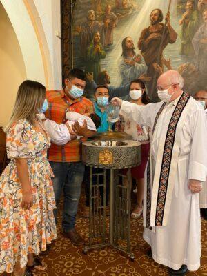Baptism of Alexander G Trejo