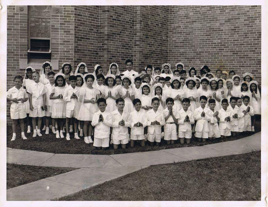 Our Lady of Perpetual Help First Communion