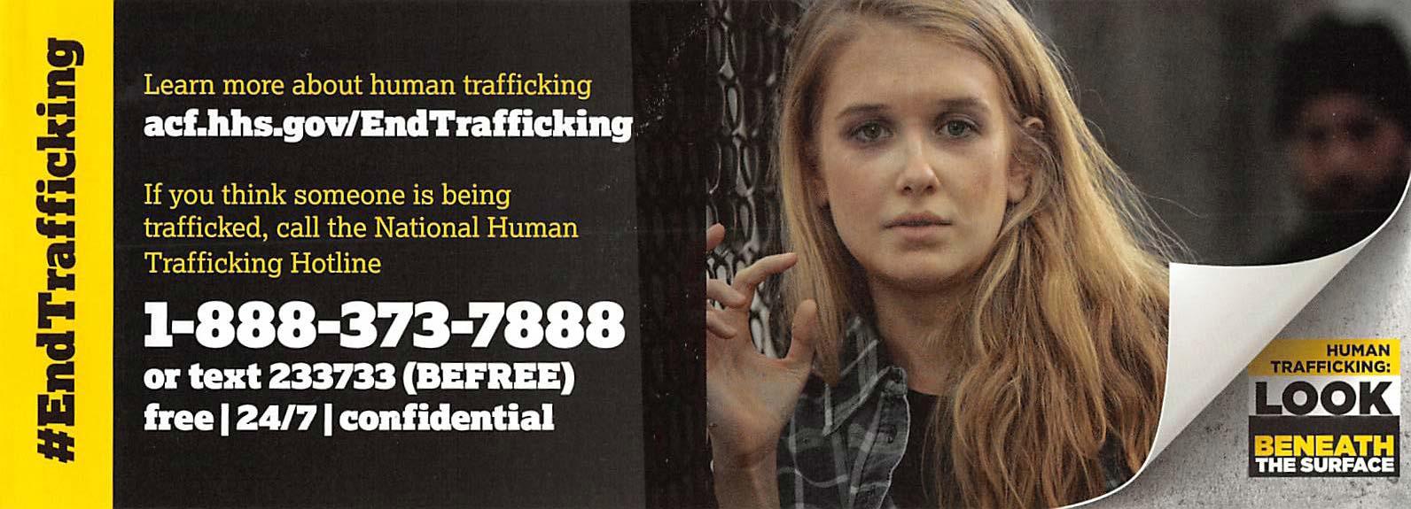 End Trafficking Hotline