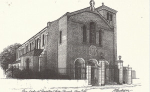 Our Lady of Perpetual Help Church Drawing
