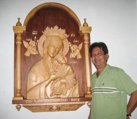 Rick bagabaldo's work at Our Lady of Perpetual Help Church in Tampa, Florida