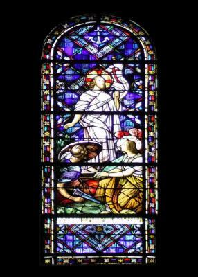 The Resurrection Stained Glass Window